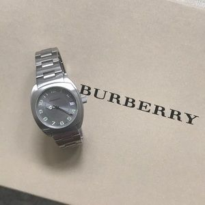 BURBERRY Silver Dial Stainless Steel Men's Watch